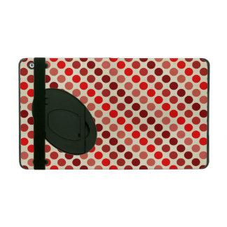 Capa iPad Máscaras de bolinhas vermelhas por Shirley Taylor