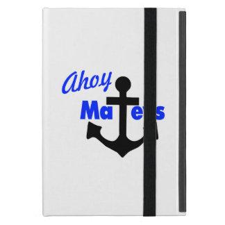 Capa iPad Mini Ahoy Mateys com âncora