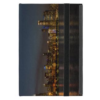 Capa iPad Mini Arquitectura da cidade da noite de Chicago