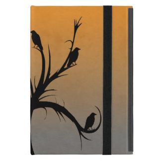 Capa iPad Mini Árvore com corvos