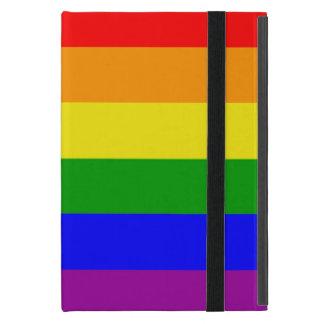 Capa iPad Mini Bandeira simples e clássica do orgulho gay do