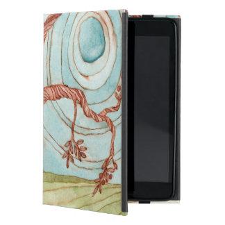 Capa iPad Mini Caso de Powis da arte da paisagem da aguarela