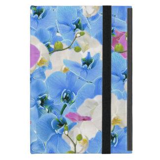 Capa iPad Mini Caso floral do iPad do teste padrão das tulipas