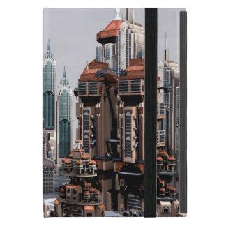Capa iPad Mini Cidade futurista