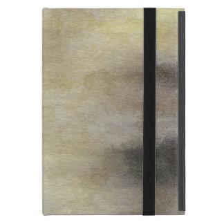 Capa iPad Mini fundo abstrato da aguarela da arte no papel