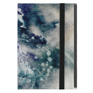 Capa iPad Mini Fundo abstrato da aguarela no papel 2 do grunge
