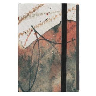 Capa iPad Mini Fundo abstrato do grunge, textura da tinta. 5