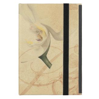 Capa iPad Mini Fundo da orquídea do vintage