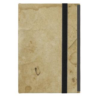 Capa iPad Mini Fundo manchado rústico do vazio do papel de
