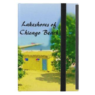 Capa iPad Mini Lakeshores da praia de Chicago