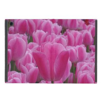 Capa iPad Mini Mini caso do iPad cor-de-rosa das tulipas sem