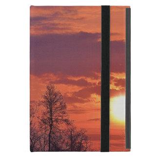 Capa iPad Mini Nascer do sol do alvorecer & arte 4 da natureza
