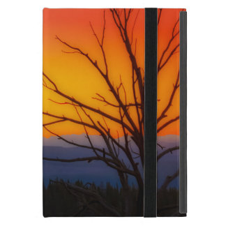 Capa iPad Mini Nascer do sol sobre o design do parque nacional de