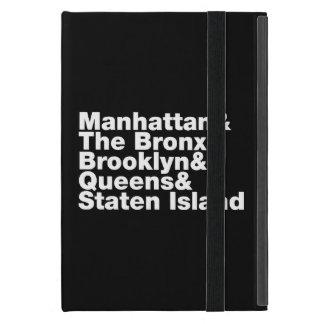 Capa iPad Mini Nova Iorque do ~ de cinco cidades