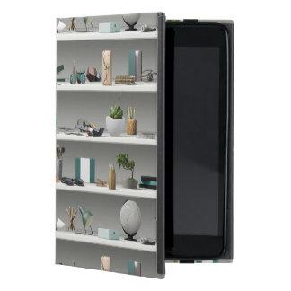 Capa iPad Mini O escritório arquiva a cerceta do bem-estar