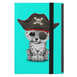 Capa iPad Mini O leopardo de neve bonito Cub do bebê pirateia