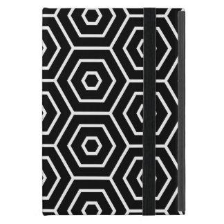 Capa iPad Mini Os hexágonos texture o teste padrão geométrico