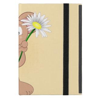 Capa iPad Mini Rato com flor