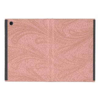 Capa iPad Mini Rosa e redemoinho do cobre
