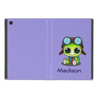 Capa iPad Mini Tartaruga bonito personalizada de Chibi no chapéu