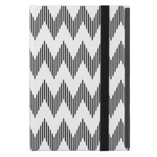 Capa iPad Mini Teste padrão de ziguezague geométrico