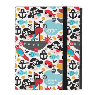 Capa iPad Navigação retro da ilustração dos piratas