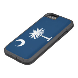 Capa iPhone 6 Tough Xtreme Bandeira do estado de South Carolina