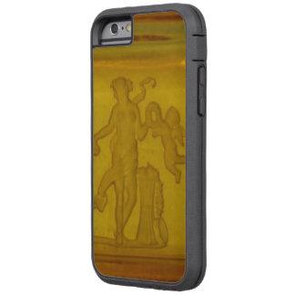 Capa iPhone 6 Tough Xtreme Caso resistente do iPhone 6 do querubim da deusa