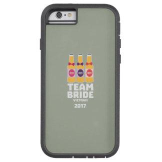 Capa iPhone 6 Tough Xtreme Noiva Vietnam da equipe 2017 Z2338