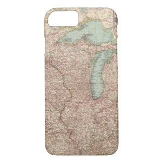 Capa iPhone 8/7 13435 Mich, Wis, Minn, Ia, Mo, mal, Ind, KY
