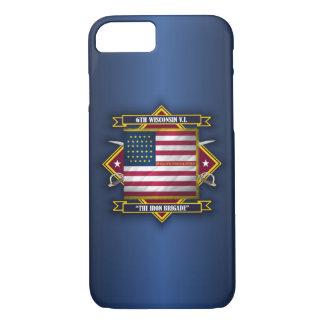 Capa iPhone 8/7 6o Infantaria voluntária de Wisconsin