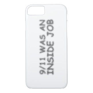 Capa iPhone 8/7 911 era um trabalho interno, bolha