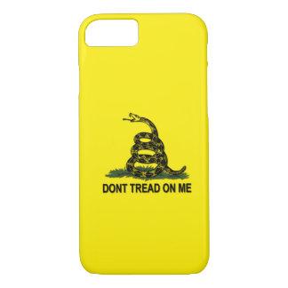Capa iPhone 8/7 A bandeira de Gadsden não pisa em mim