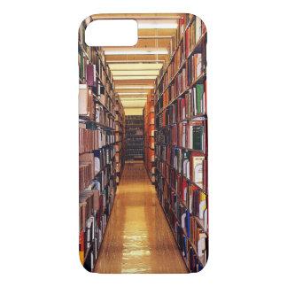 Capa iPhone 8/7 A biblioteca registra o iPhone 7/8 de caso