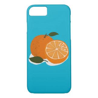 Capa iPhone 8/7 A comida - laranja