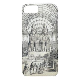 Capa iPhone 8/7 A corte de Nubian no palácio de cristal em