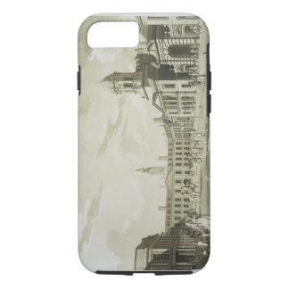 Capa iPhone 8/7 A grande jarda da corte, castelo de Dublin, 1792