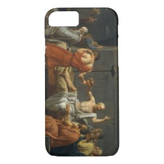 Capa iPhone 8/7 A morte de David de Socrates
