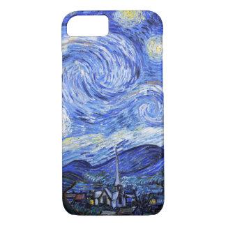 Capa iPhone 8/7 A noite estrelado por Van Gogh