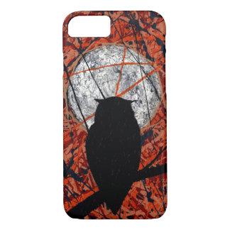 Capa iPhone 8/7 A VIGÍLIA! (~ do design abstrato da coruja)