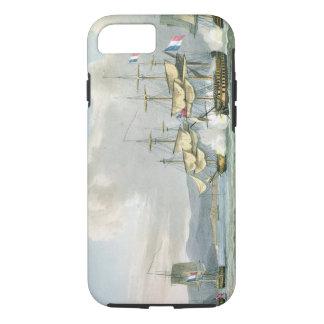 Capa iPhone 8/7 Ação da fragata em estradas de Vizagapatam, fora