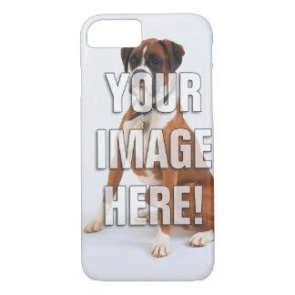 Capa iPhone 8/7 Adicione sua foto do cão
