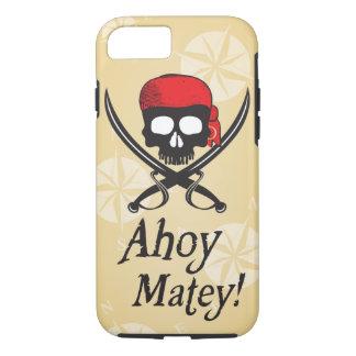 Capa iPhone 8/7 Ahoy amigo! Crânio