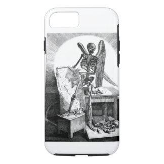 Capa iPhone 8/7 Anjo da anatomia do vintage da morte