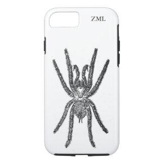 Capa iPhone 8/7 Aranha assustador do Tarantula personalizada