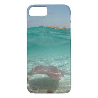 Capa iPhone 8/7 Arraia-lixa subaquática no caso do iPhone 7 de