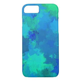 Capa iPhone 8/7 Arte abstracta multicolorido da pintura do