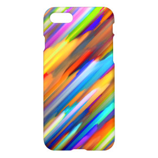 Capa iPhone 8/7 arte digital colorida do caso do iPhone 7 que