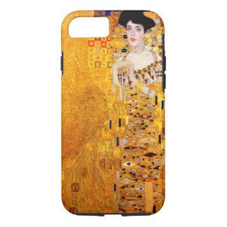 Capa iPhone 8/7 Arte Nouveau do vintage de Gustavo Klimt Adele