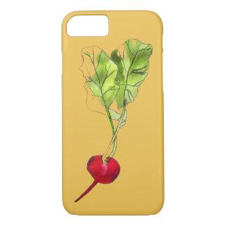 Capa iPhone 8/7 Arte vegetal da ilustração do watercolour do